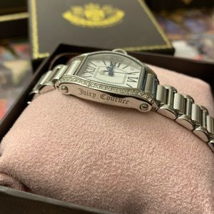 Juicy Couture Accessories - Juicy Couture Jewel Crusted Watch